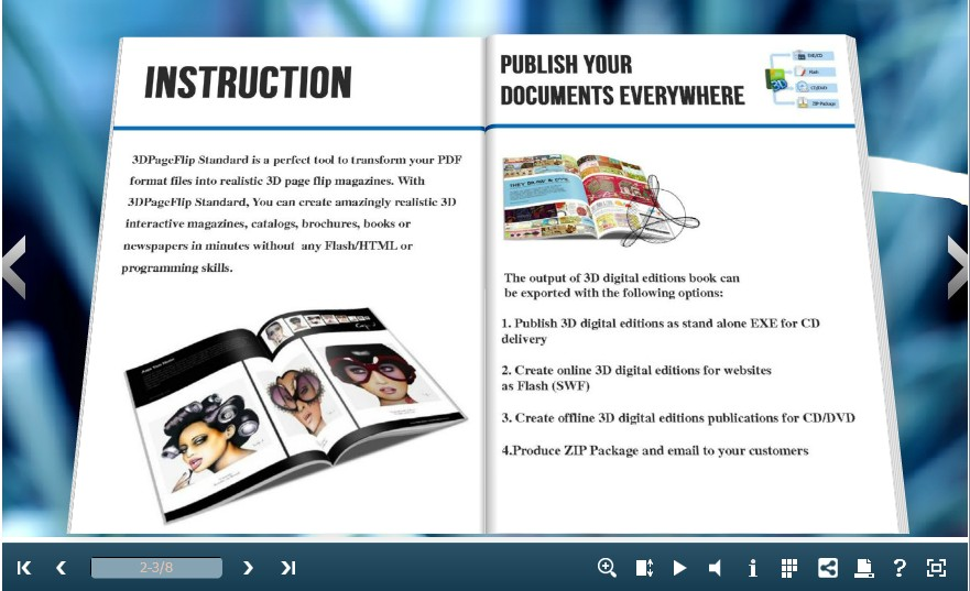 five points to decorate your pdf to flip book