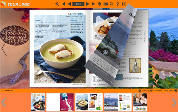 How To Use Four Templates To Design Your PDF To Flip Book