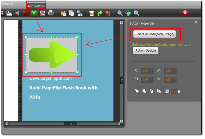 two page view flip pdf professional