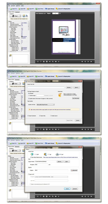 Free PageFlip Flash Maker