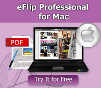 PageFlip PDF to Flash Professional Mac