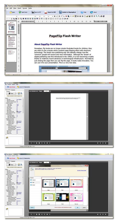 PageFlip Flash Writer