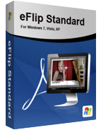 Box shot of eFlip Book Converter