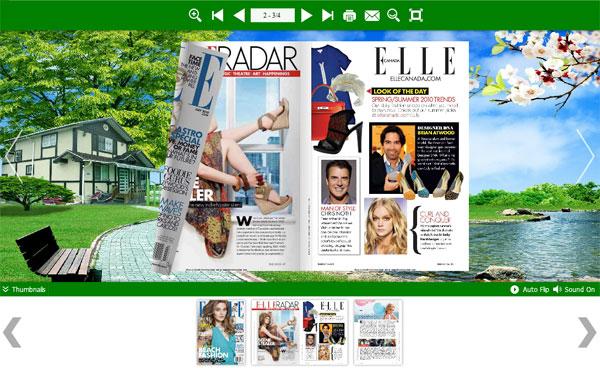 PDF to Flipbook Converter for Mac full screenshot