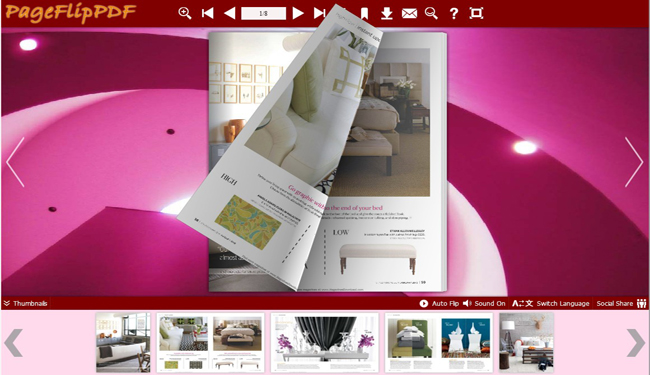 flash flipbook created by eFlip Standard!