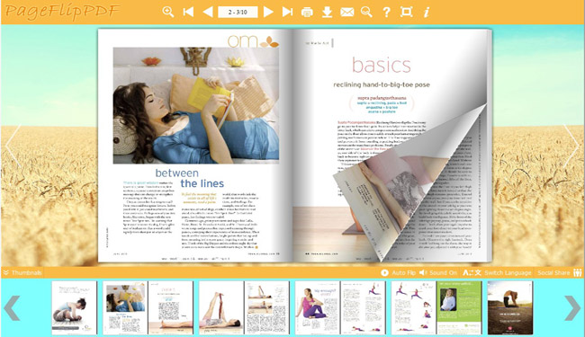 Flipping Book Templates of Enjoyment Style