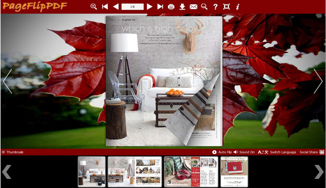 Red Style of Flipping Book Templates 1.0 full